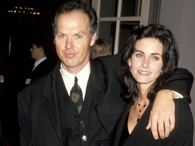 Michael Keaton with Single